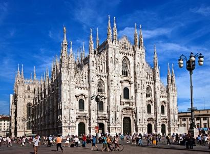 Visiting the Duomo-Milan